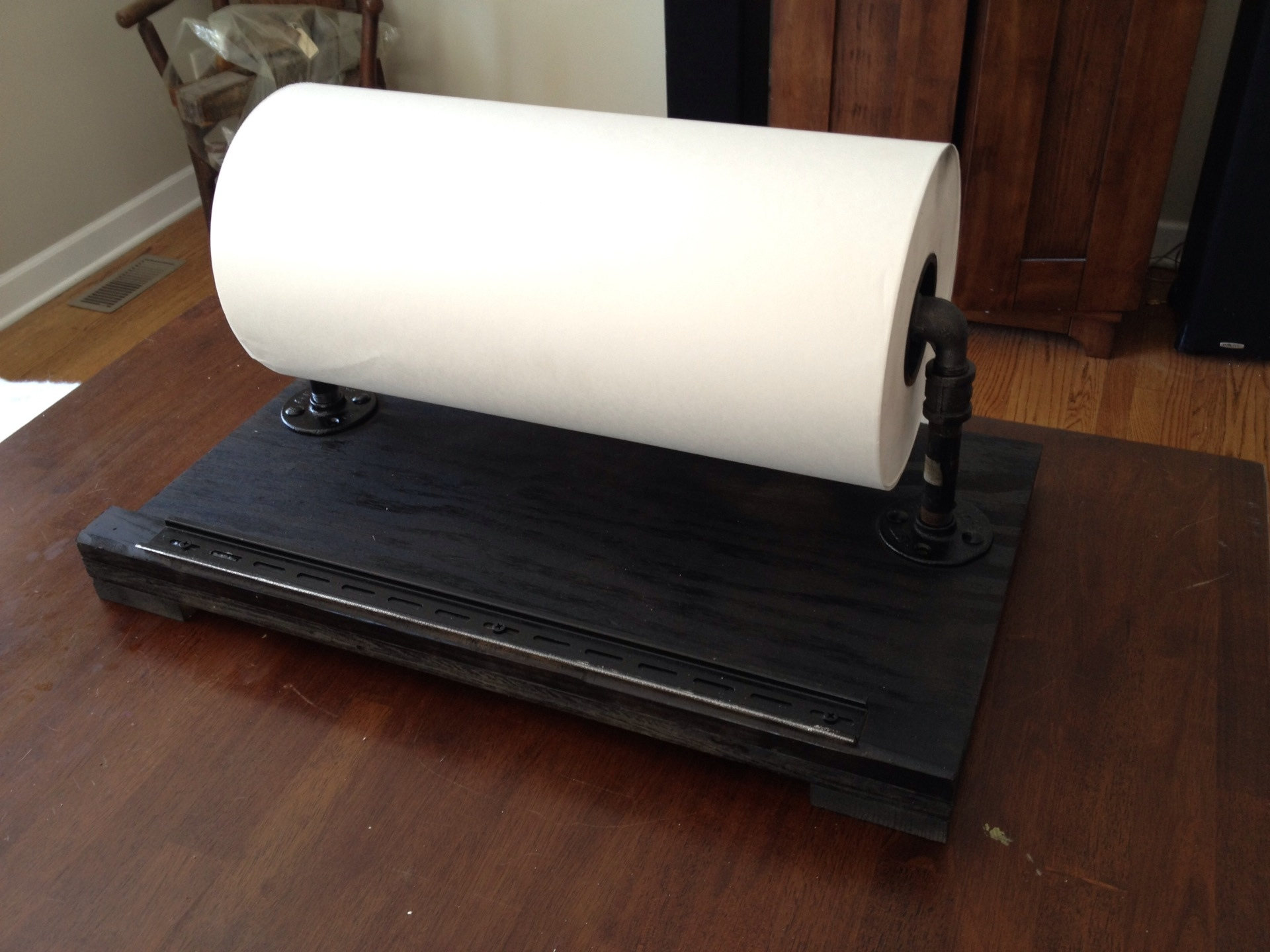 handmade butcher paper holder